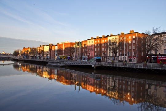 Liffey, Early Winter Morning